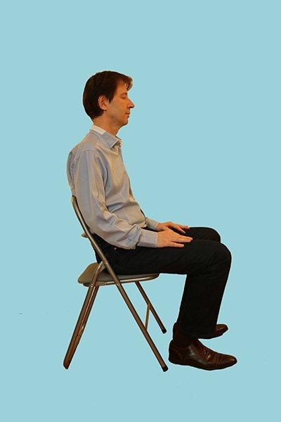 Séance de sophrologie assis
