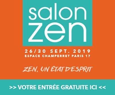 Conférence salon Zen Paris
