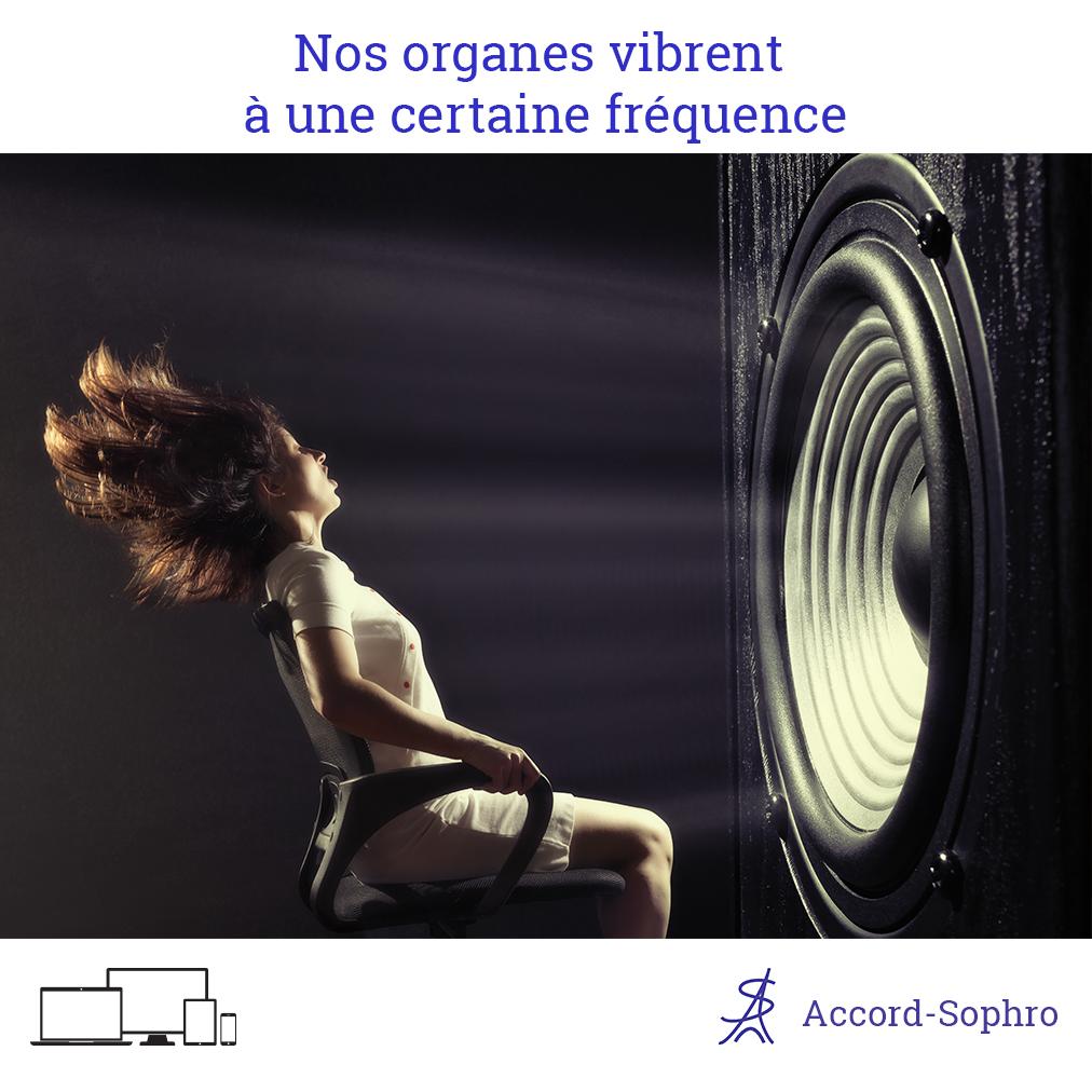 nos organes vibrent avec les fréquences
