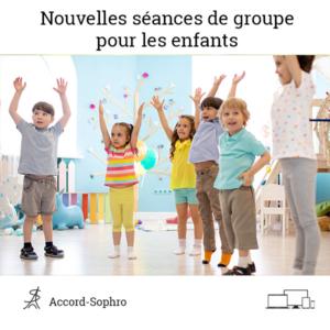 séances de groupe pour les enfants